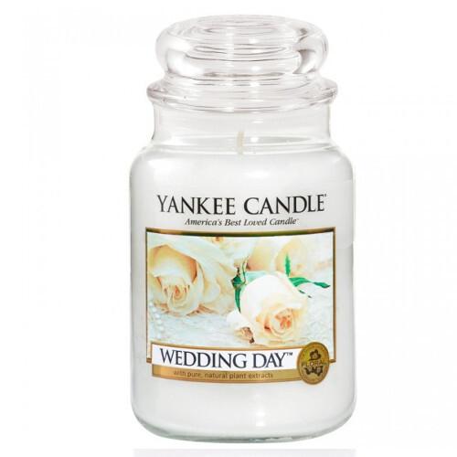 Yankee Candle Aromatická svíčka velká Svatební den (Wedding Day) 623 g