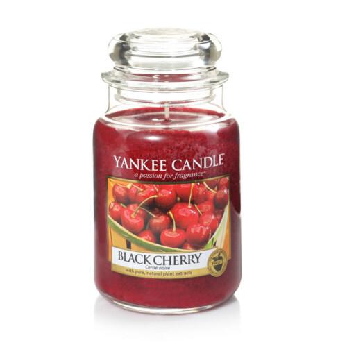Yankee Candle Aromatická svíčka velká Zralé třešně (Black Cherry) 623 g