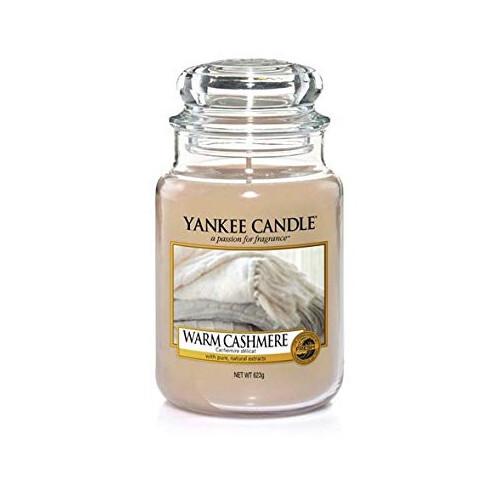 Yankee Candle Aromatická svíčka Warm Cashmere 623 g
