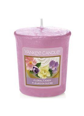 Yankee Candle Aromatická votivní svíčka Floral Candy 49 g