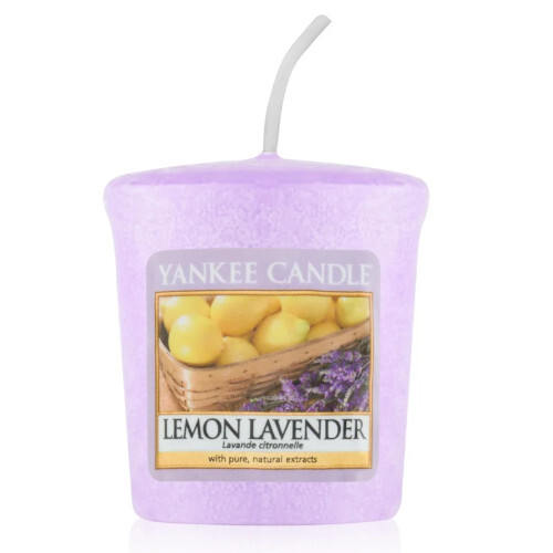 Yankee Candle Aromatická votivní svíčka Lemon Lavender 49 g