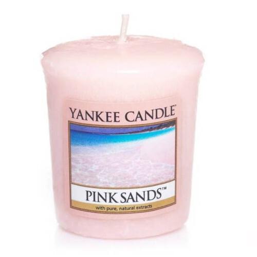 Yankee Candle Aromatická votivní svíčka Pink Sands 49 g