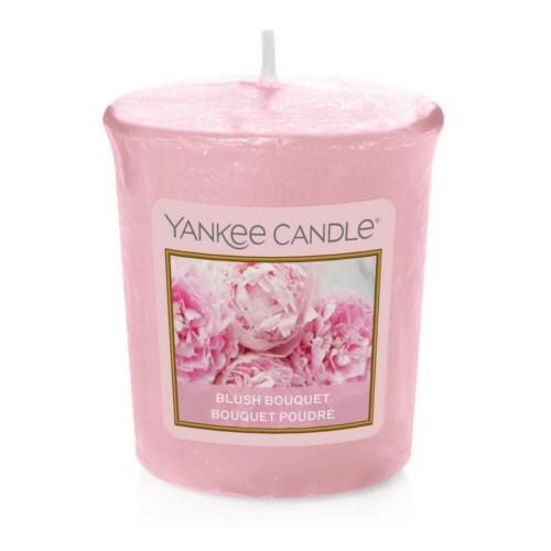 Yankee Candle Aromatická votivní svíčka Růžové pivoňky (Blush Bouquet) 49 g