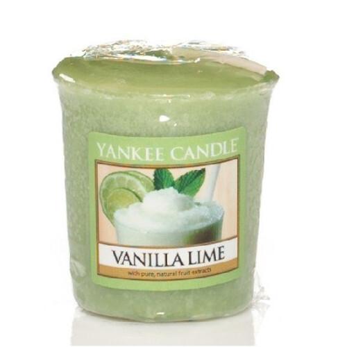 Yankee Candle Aromatická votivní svíčka Vanilla Lime 49 g