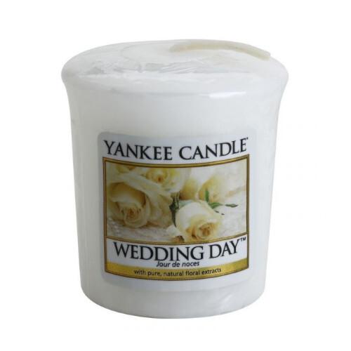 Yankee Candle Aromatická votivní svíčka Wedding Day 49 g