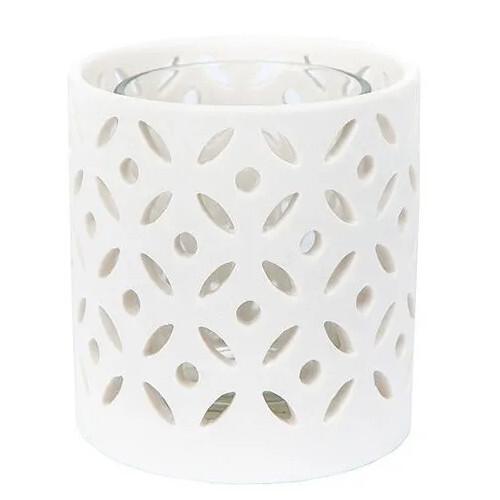 Yankee Candle Svícen keramický , Ceramic Circle, výška 8 cm