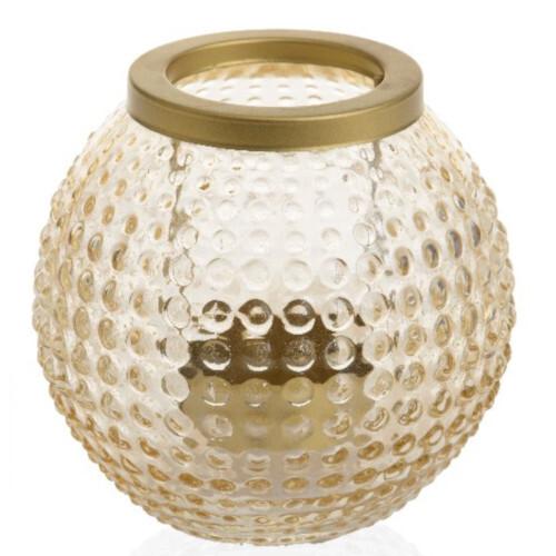 Yankee candle Lucerna Yankee Candle Pastel Romance, zlatá