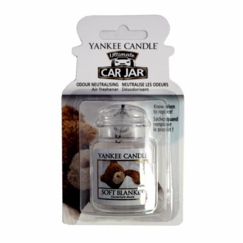 Yankee Candle Luxusné visačka do auta Soft Blanket 1 ks