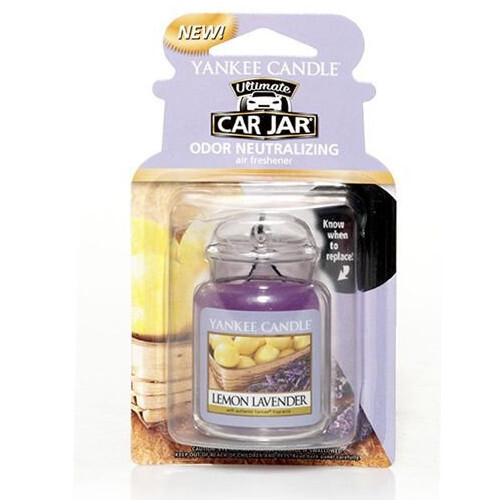 Yankee Candle Luxusné visačka do auta Lemon Lavender 1 ks