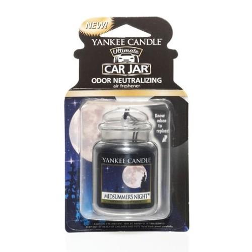 Yankee Candle Luxusní visačka do auta Letní noc (Midsummer`s Night) 1 ks
