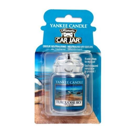 Yankee Candle Luxusní visačka do auta Tyrkysová obloha (Turquoise Sky) 1 ks