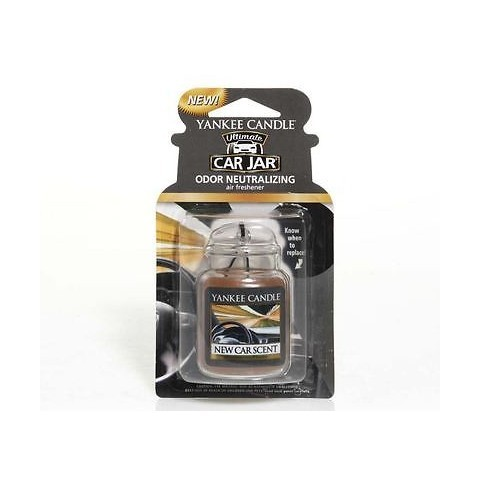 Yankee Candle Luxusné visačka do auta New Car Scent 1 ks