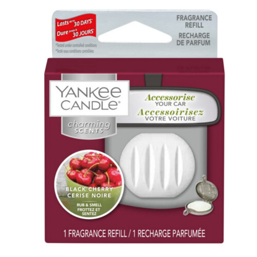 Yankee Candle Vůně do auta Black Cherry - náhradní náplň 1 ks