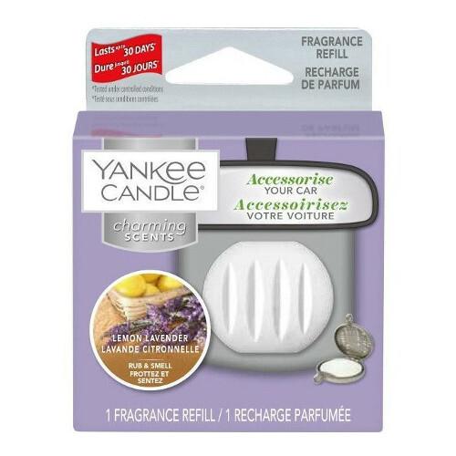 Yankee Candle Vůně do auta Lemon Lavender - náhradní náplň 1 ks