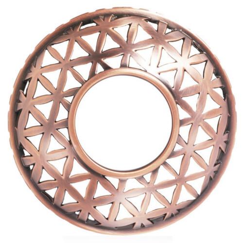 Yankee Candle Ozdobný měděný prstenec na vonnou svíčku Belmont 1 ks