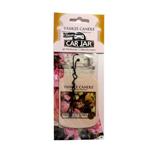 Yankee Candle Papírová visačka do auta Fresh Cut Roses 1 ks