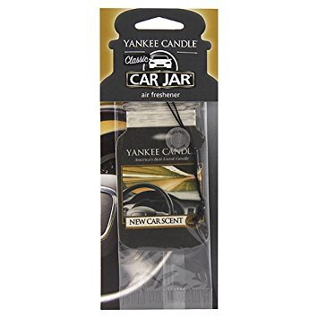 Yankee Candle Papierová visačka do auta New Car Scent 1 ks