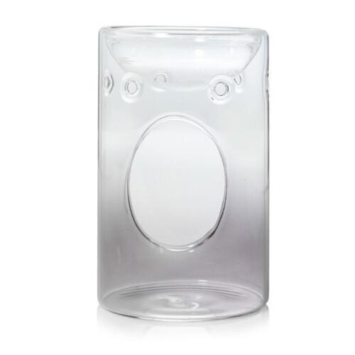 Yankee Candle Skleněná aromalampa Savoy Grey Glass