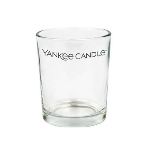 Yankee Candle Skleněný svícen Everyday Essential čirý na votivní svíčky