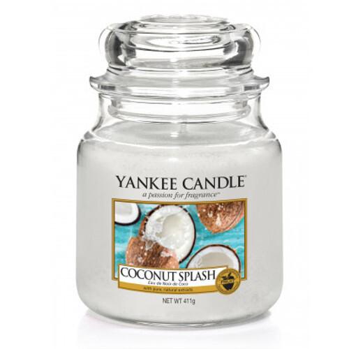 Yankee Candle Vonná svíčka Classic malá Kokosové osvěžení (Coconut Splash) 104 g