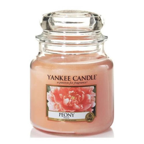 Yankee Candle Vonná svíčka Classic malá Pivoňka (Peony) 104 g