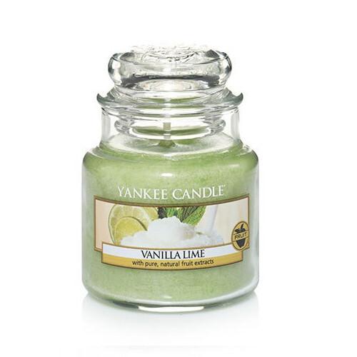 Yankee Candle Vonná svíčka Classic malá Vanilka a limetka (Vanilla Lime) 104 g