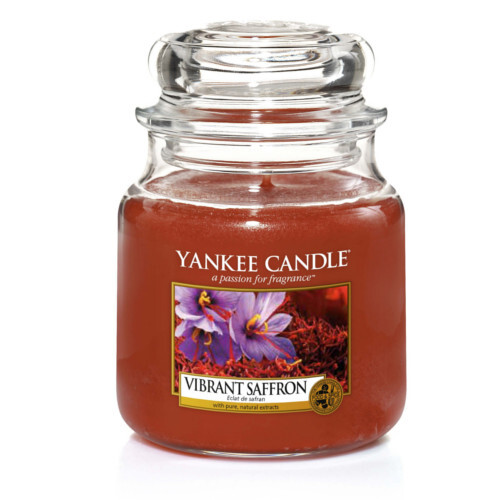 Yankee Candle Vonná svíčka Classic malá Živoucí šafrán (Vibrant Saffron) 104 g