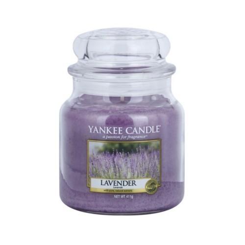 Yankee Candle Vonná svíčka Classic střední Levandule (Lavender) 411 g