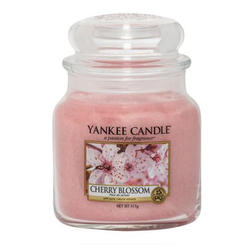Yankee Candle Vonná svíčka Classic střední Třešňový květ (Cherry Blossom) 411 g
