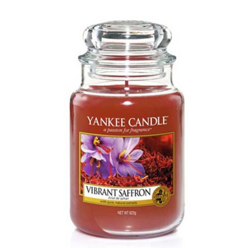 Yankee Candle Vonná svíčka velká Živoucí šafrán (Vibrant Saffron) 623 g