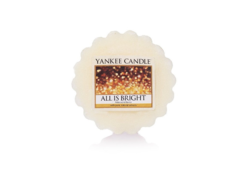 Yankee Candle Vonný vosk All is Bright 22 g