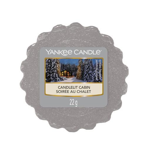 Yankee Candle Vonný vosk Candelit Cabin 22 g