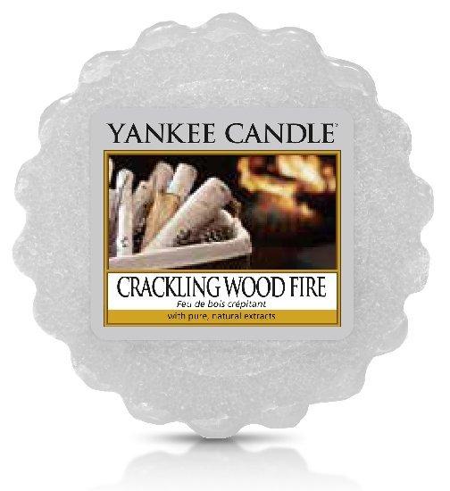 Yankee Candle Vonný vosk Crarkling Wood Fire 22 g