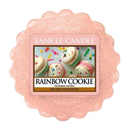 Yankee Candle Vonný vosk do aromalampy Duhové makronky (Rainbow Cookie) 22 g