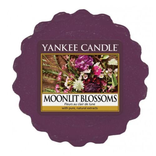 Yankee Candle Vonný vosk do aromalampy Květiny ve svitu měsíce (Moonlit Blossoms) 22 g