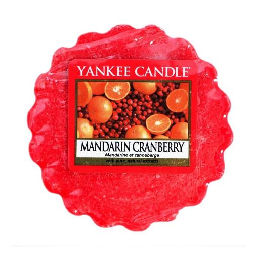 Yankee Candle Vonný vosk do aromalampy Mandarinka a brusinka (Mandarin Cranberry) 22 g
