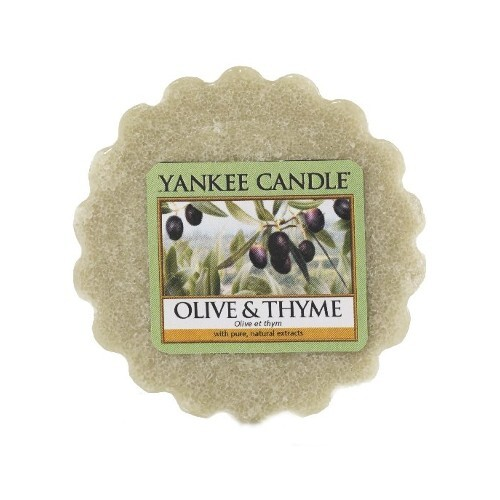Yankee Candle Vonný vosk do aromalampy Olivy a tymián (Olive & Thyme) 22 g
