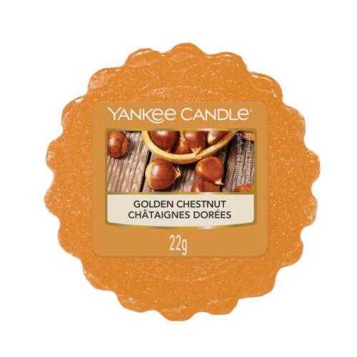 Yankee Candle Vonný vosk do aromalampy Pečené kaštany (Golden Chestnut) 22 g