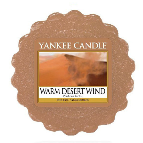 Yankee Candle Vonný vosk do aromalampy Teplý pouštní vítr (Warm Desert Wind) 22 g
