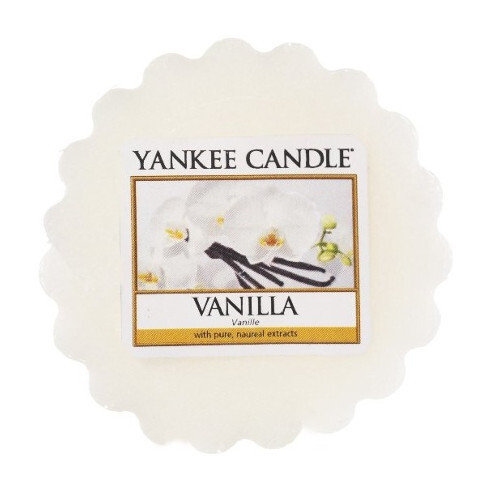 Yankee Candle Vonný vosk do aromalampy Vanilka (Vanilla) 22 g