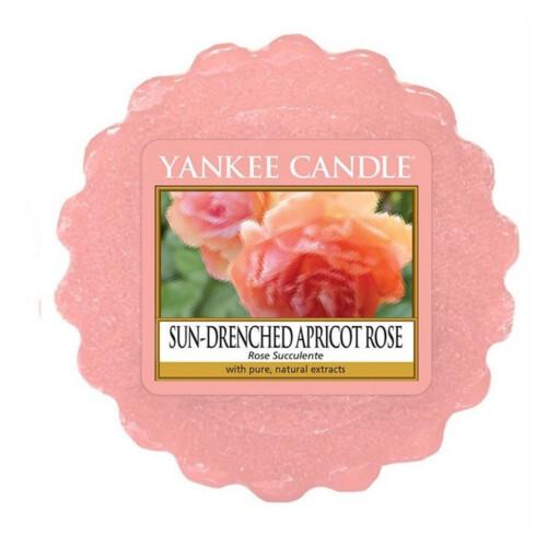 Yankee Candle Vonný vosk do aromalampy Vyšisovaná meruňková růže (Sun-Drenched Apricot Rose) 22 g
