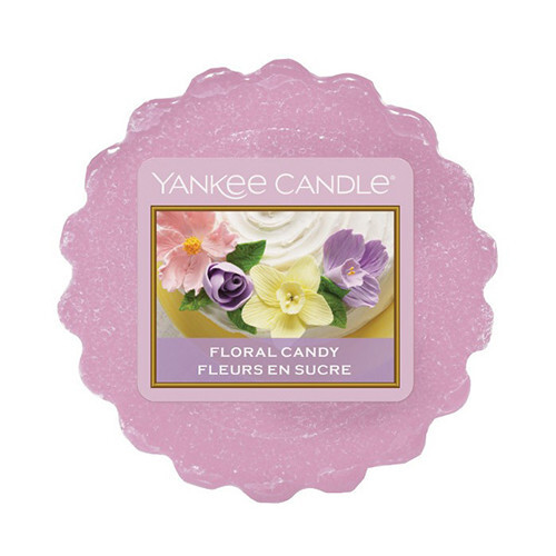 Yankee Candle Vonný vosk Floral Candy 22 g