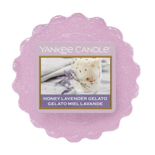 Yankee Candle Vonný vosk Honey Lavender Gelato 22 g