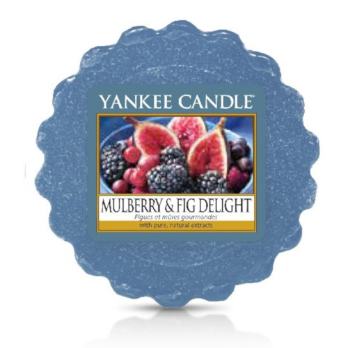 Yankee Candle Vonný vosk Mulberry & Fig Delight 22 g
