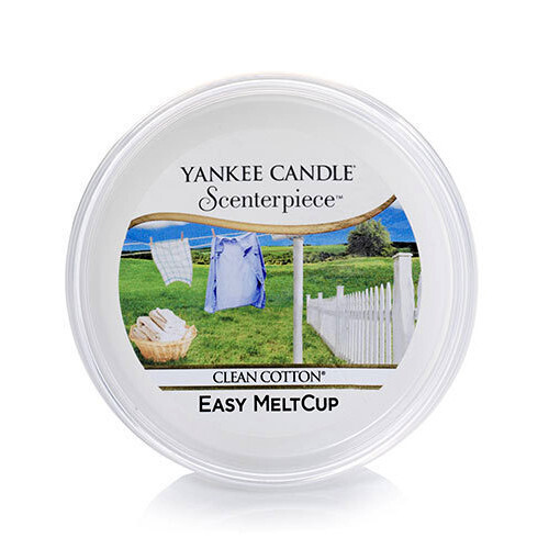 Yankee Candle Vosk do elektrickej aromalampy Clean Cotton 61 g