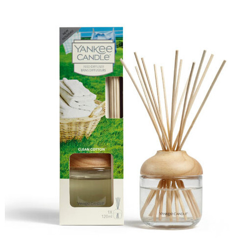 Yankee Candle Aroma difuzér Clean Cotton 120 ml