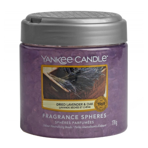 Yankee Candle Vonné perly Dried Lavender   Oak 170 g