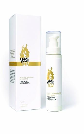 YESforLOV Masážní olej 100 ml