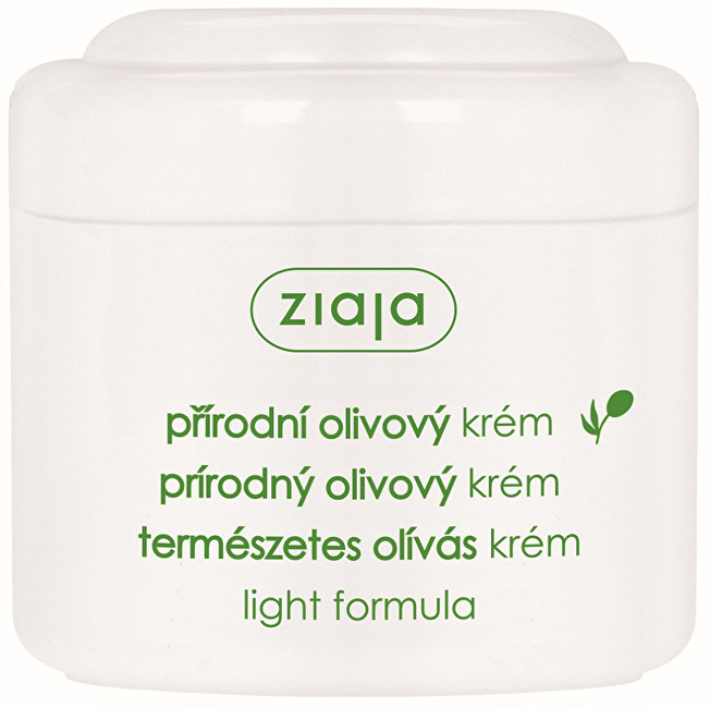 Ziaja Denní krém pro normální a suchou pleť lehké složení Natural Olive 200 ml