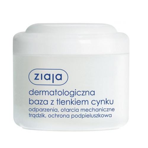 Ziaja Dermatologické hypoalergénne bázy s oxidom zinočnatým 80 ml